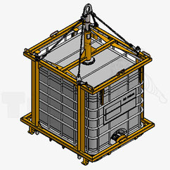 IBC-Automatik-Lastaufnahmemittel