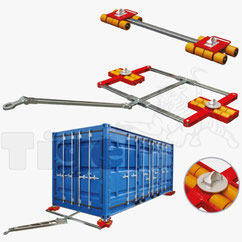 Containertransportfahrwerk ISO-CON