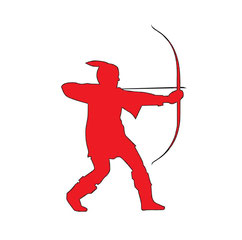 Nottinghamshire Flag Robin Hood - Big Stock Photo (C)