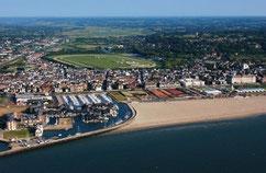 Deauville ist ein französisches Seebad im Département Calvados in der Region Basse-Normandie