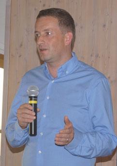 TCS-Vorstand Florian Herth. Foto: Alpha-Report