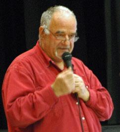 Roland Balbis, maire de Villecroze lors du débat du 19 mars