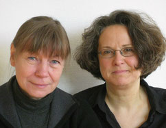 links, mit Karina Schmidt (© Peter Schöffer)