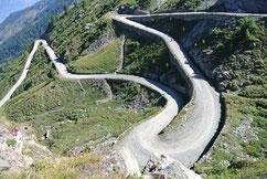 Blick vom Col de Finstre