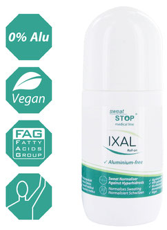 Antitranspirant SweatStop IXAL RollOn (50ml)