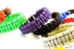 KingLuy Paracord Survival Armband Bracelet