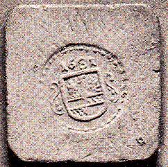 Holzzeichen von 1632