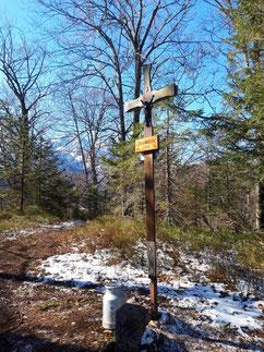 Gipfelkreuz Ameisstein, Almtal, Almsee