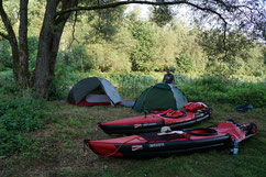 Waldcamp an der Otava