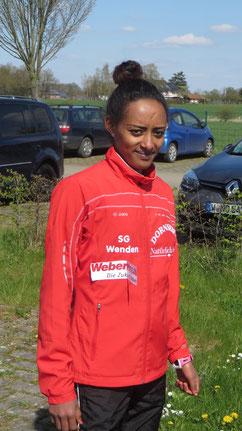 Gesamtsiegerin bei den Frauen: Mealat Yemane