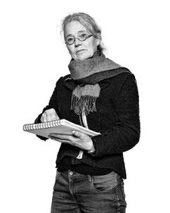 foto uit serie ' Limburgse kunstenaars' van Barend Jan de Jong