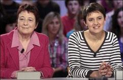 Arlette Laguiller et Nathalie Arthaud