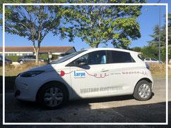 véhicule électrique entreprise LARPE