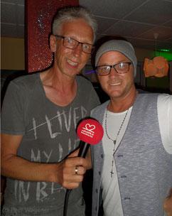 """""""Peers Schlagersterne"""" am 21.08.2018 bei radio leinehertz 106.5 mit Ben Luca im Interview"""