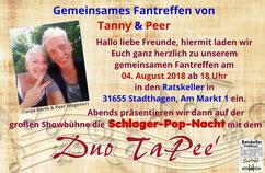 Fantreffen von Peer Wagener am 04. August 2018 im Ratskeller in 31655 Stadthagen, Am Markt 1