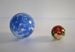 後明政晴「青い惑星」「花の惑星」