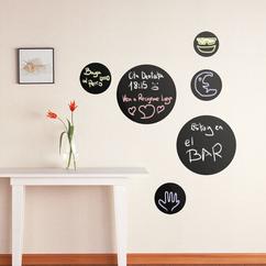 vinilo decorativo, pizarra, tizas, anotar, dibujar, recados, recuerda, mensajes, recordatorio
