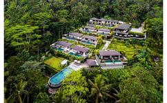 Neues Luxus Hotel Samsara Ubud in Tropischer Lage mit Privaten Villen mit eigenem Pool.