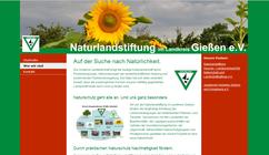 Neue Website der Naturlandstiftung