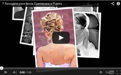 Peinado novia Cuernavaca