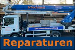 Reparatur- und Wartungsservice, TÜV, UVV, Ersatzteile, technische Notfälle