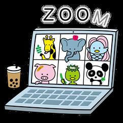 オンライン対応デザイナーZoom会議イラストチラシHPデザイン作成打ち合わせ