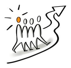 Teamentwicklung, Verbesserung der Zusammenarbeit, Weiterentwicklung, Kommunikation und Schnittstellen verbessern