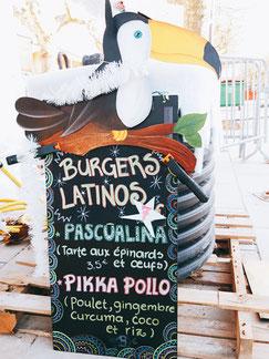 La picada loca au marché de Noël - Burgers latinos