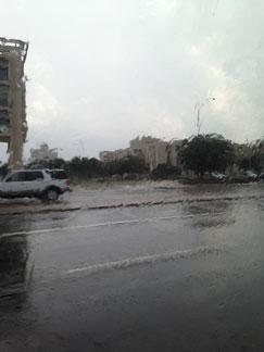 auch hier regnet es hin und wieder...