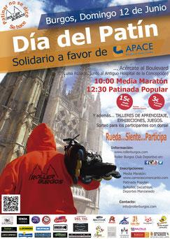 I MEDIA MARATON DIA DEL PATIN - Burgos, 12-05-2016