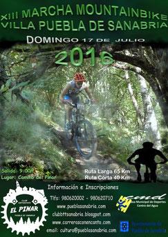 XIII MARCHA MONTAINBIKE VILLA DE PUEBLA DE SANABRIA - Puebla de Sanabria, 17-07-2016