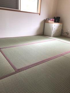 横浜 港南区の畳屋さん 内藤畳店 新畳表施工後