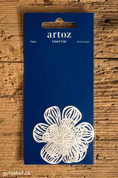 Artoz Laser Cut Blüten Blumen Flowers, Artoz, Laser Cut, Herzen, Shop, bestellen, Schweiz