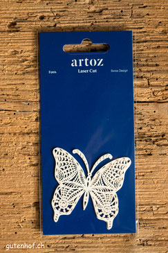 Artoz Laser Cut Schmetterling, Artoz, Laser Cut, Herzen, Shop, bestellen, Schweiz