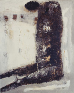 Human(Form+Rythm)   27.3×22cm   Oil on canvas  1996
