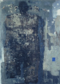 In and Out   130.3×97cm   Oil on canvas   1999