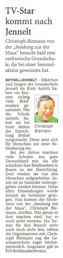 Ostfriesenzeitung 04.05.2018