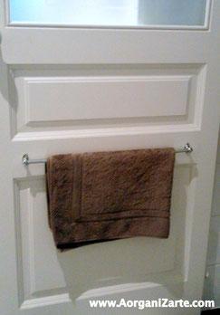 Cuelga las alfombrillas tras la puerta - AorganiZarte