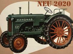 NEU 2020: Hanomag R27 mieten