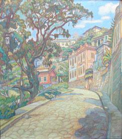 Rio 1926 89x78 huile sur toile André Aaron Blils