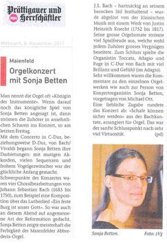 """aus: """"Prättigauer und Herrschäftler"""", 8. 11. 2017"""