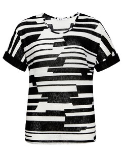 leichtes Damen T-Shirt in großen Größen rundem Ausschnitt