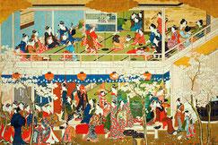 04-08 岡田美術館特別展と最後の箱根ホテル小涌園ランチ