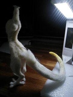 羊毛フェルト ドラゴン オーダー