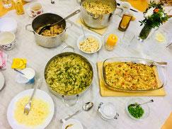 Warme TCM-Frühstücks-Vielfalt im Januar '18