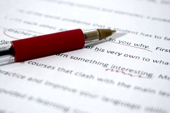 English academic proofreading by a native speaker