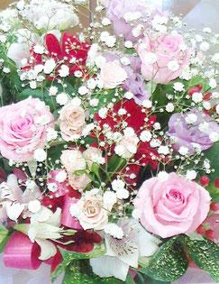 ブライダルの花