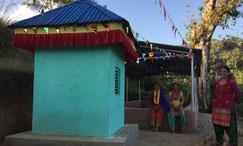 Kleiner Shiva und Parvati - Tempel