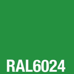 ESG Glas farbig lackiert RAL 6024