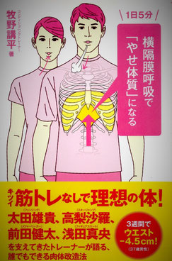 横隔膜呼吸書籍のイメージ